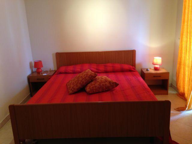 camera da letto con ventilatore a tetto