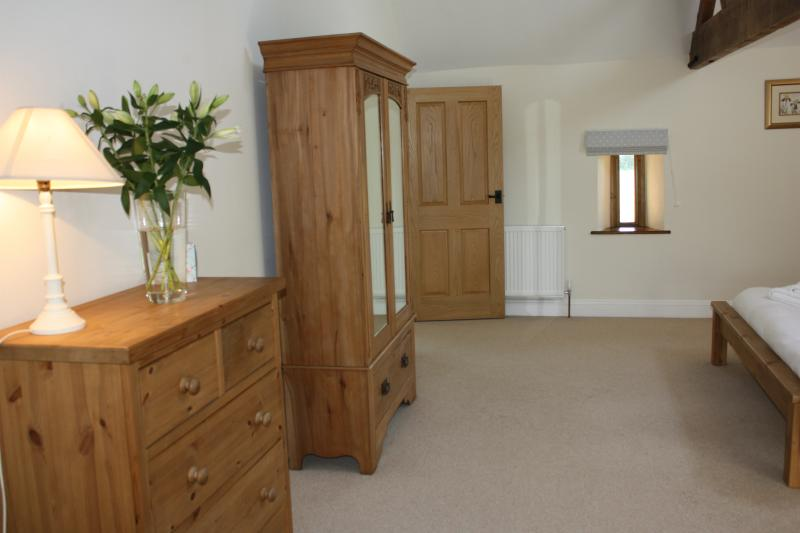 All rooms are very spacious & have a chest of drawers & wardrobes
