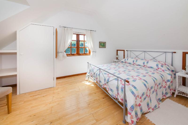 Large airy bedroom with lovely views and plenty of space should you have little kids with you
