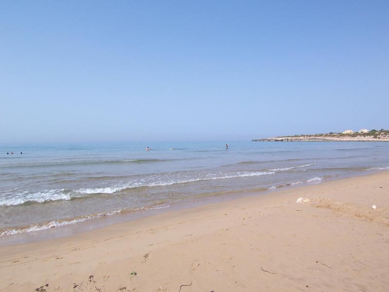 la spiaggia di Costa di Carro (a 200 metri!)