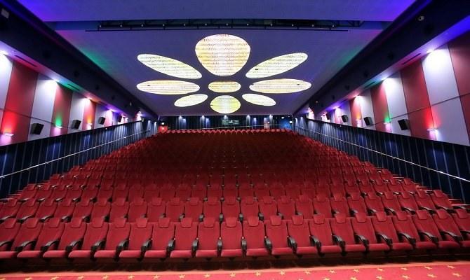 The cineplex boasts 19 movie theaters.