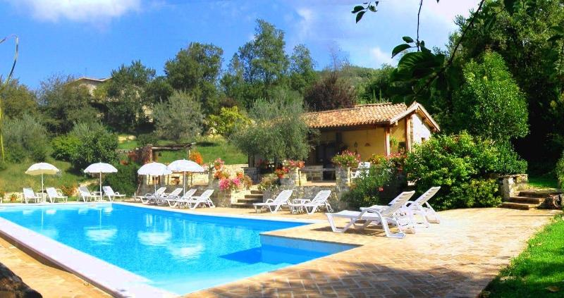 Agriturismo Le Casacce, location de vacances à Gubbio