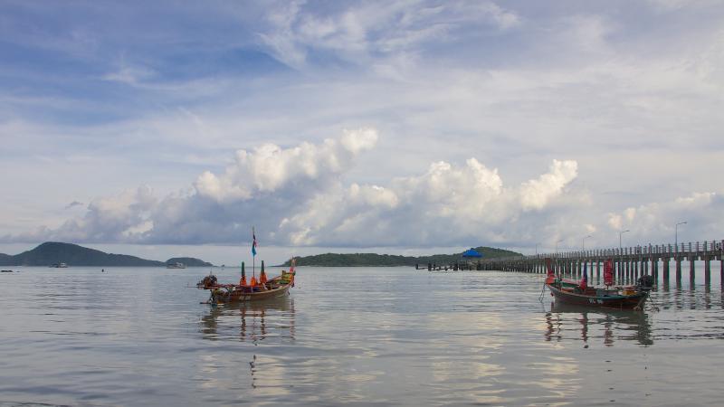 Alcuni dei paesaggi mozzafiato nei pressi della Villa (Rawai Pier)
