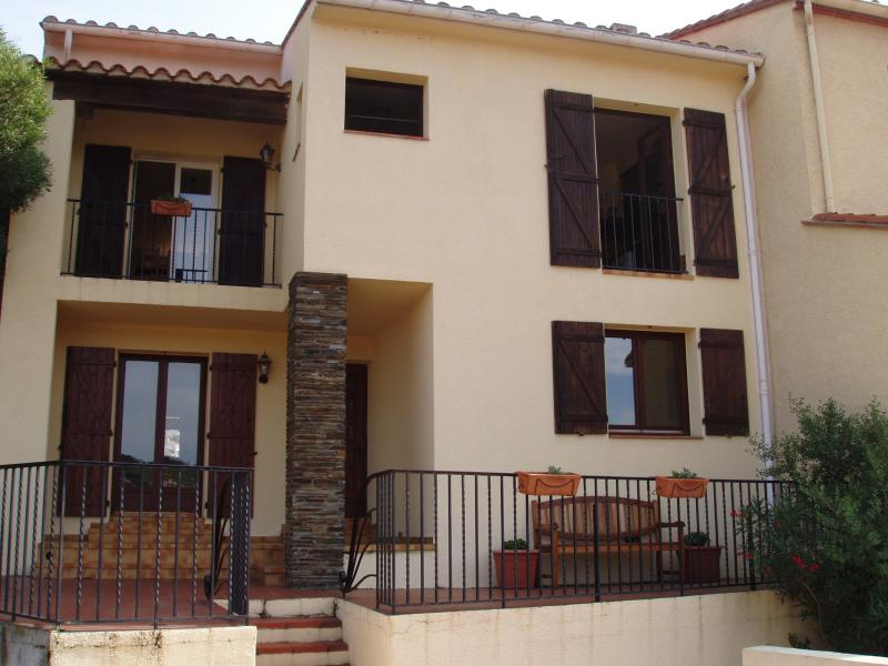 Chez Collioure (Large, Split Level, Two Bedroom House with Terrace and Garden)