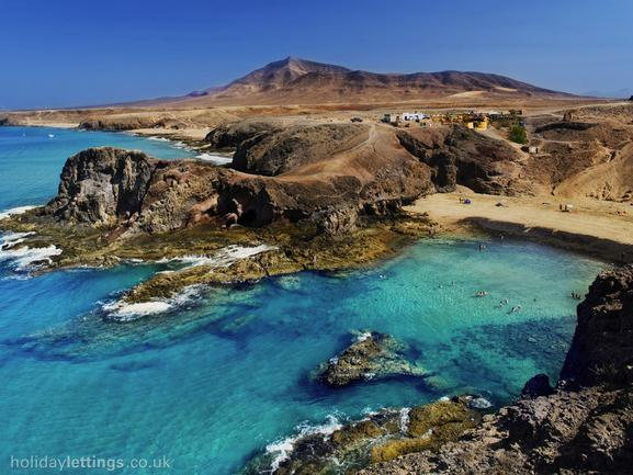 Playas Papagayo, wide range of white sand and crystal water beaches just 5 minutes from property