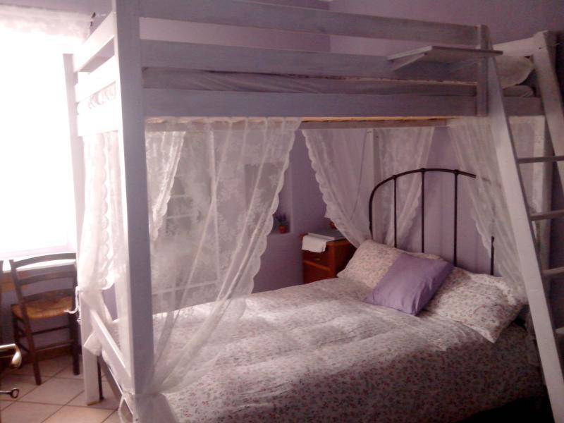 La nostra Room2, romantica ma ideale per le famiglie