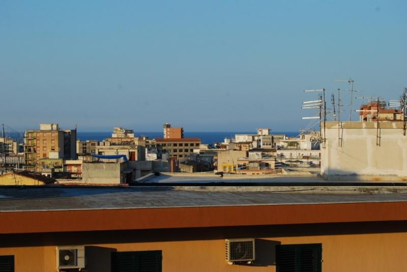 vista sul mare dal terrazzo