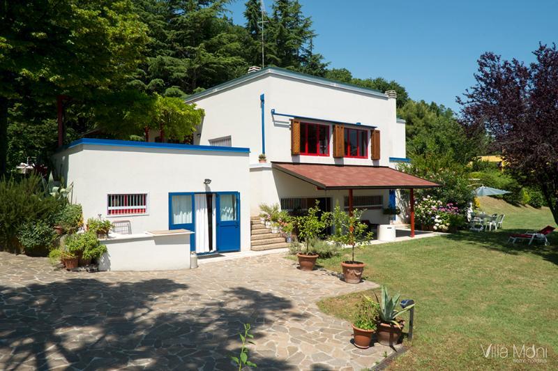 Villa Moni in Pesaro Marche, holiday rental in Carpegna