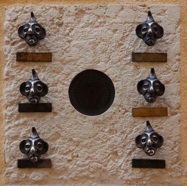 The ancient door bells