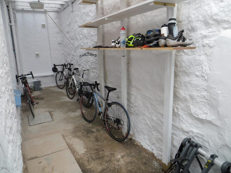 Large Lockable Bike Storage etc.