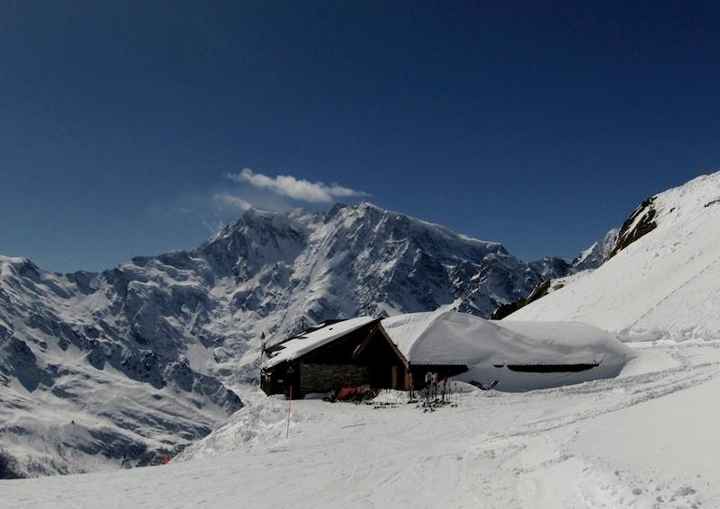 Monte Moro e rifugio Cub Alpino Italiano