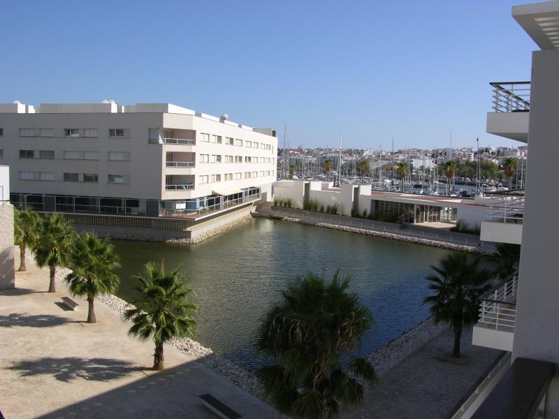 View from Balcony to the Marina