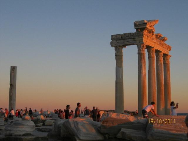 Historical Roman city of Side is a delight, ask for our online video of the resort