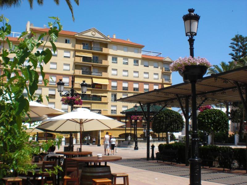 The Square in San Pedro de Alcantara