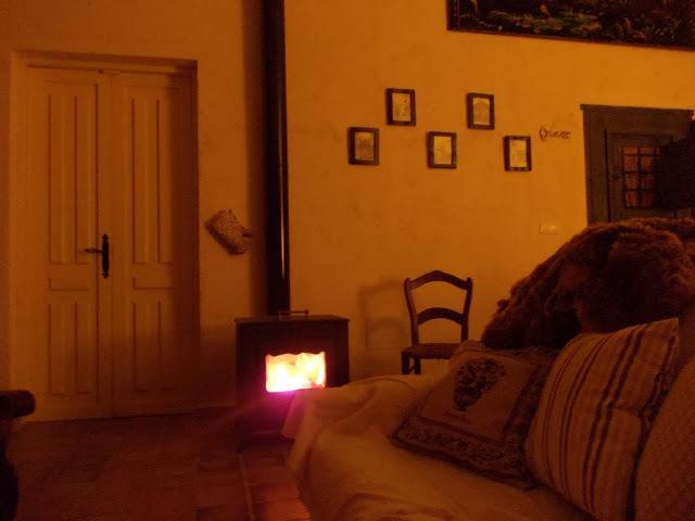 Stove living room