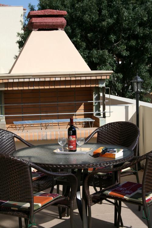 Barbecue terrace for al-fresco dining