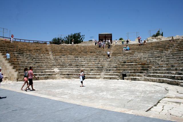 The Kourion (Curium) Amphitheatre