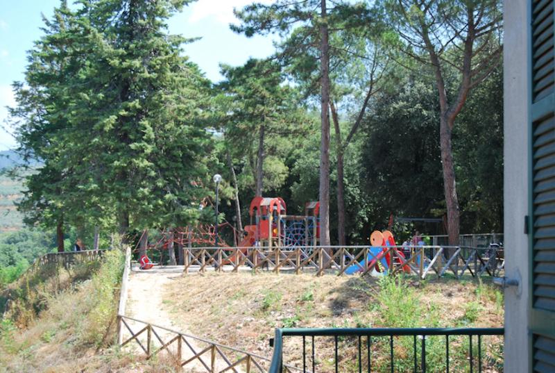 Playing area for children