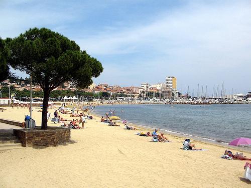 Ste Maxime Town Beach
