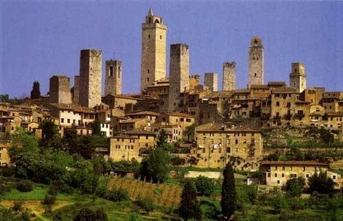San gimignano 55 Km form Villa il Castellaccio