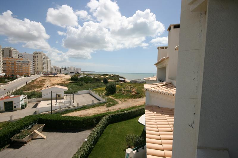 Sea view from living room balcony