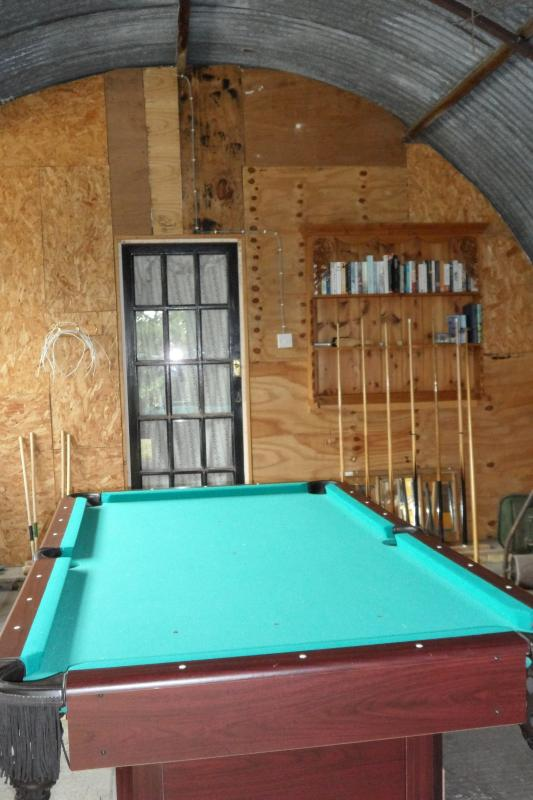 Games room Two - Pool, table top football, children & adult reading books etc