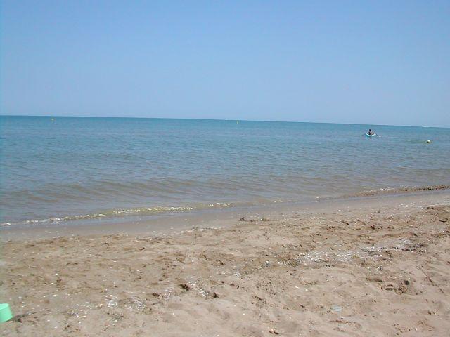 Playa Eucaliptus, a 100 metros del apartamento