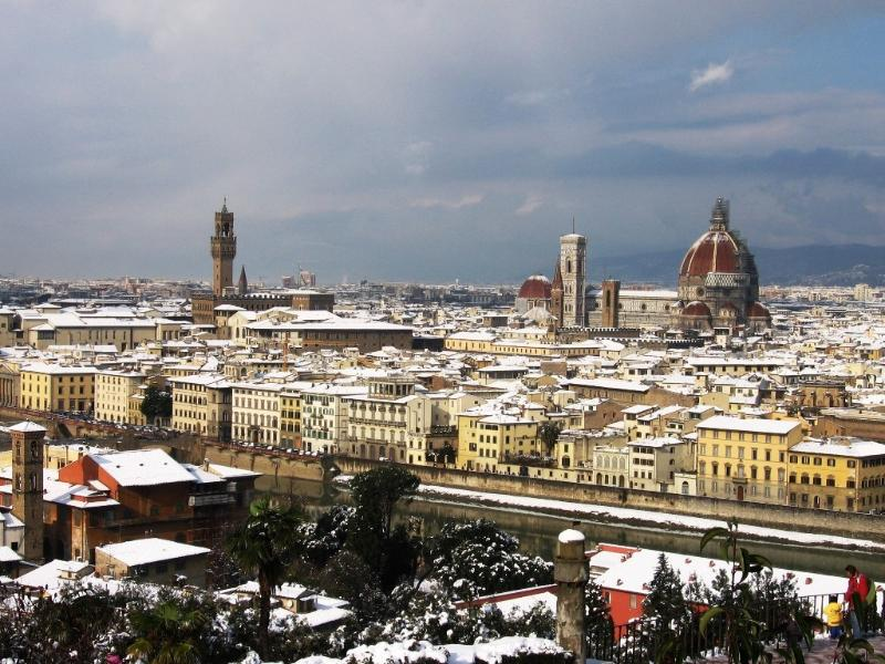 Firenze just 25 minutes by train