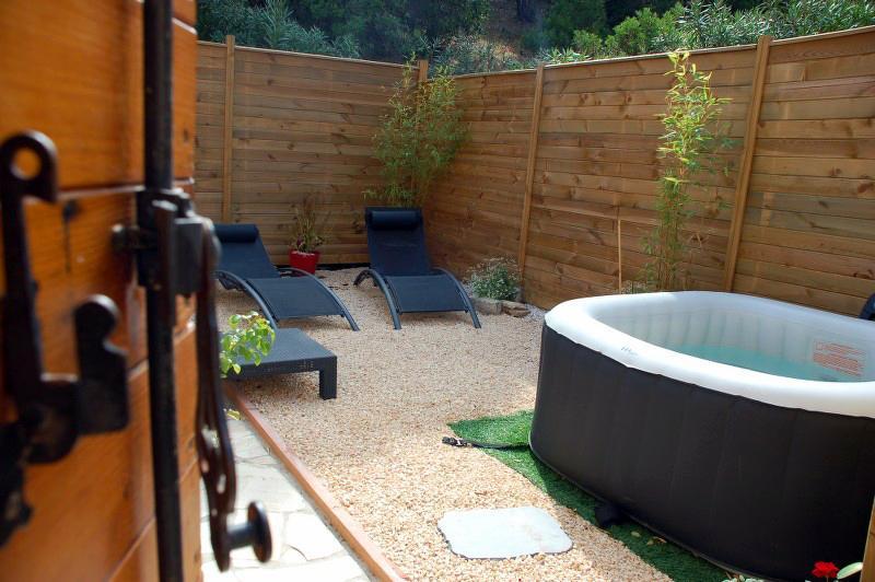 La terrasse de 30 m², espace...