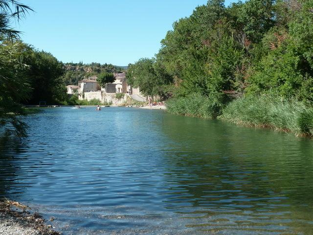 River bathing