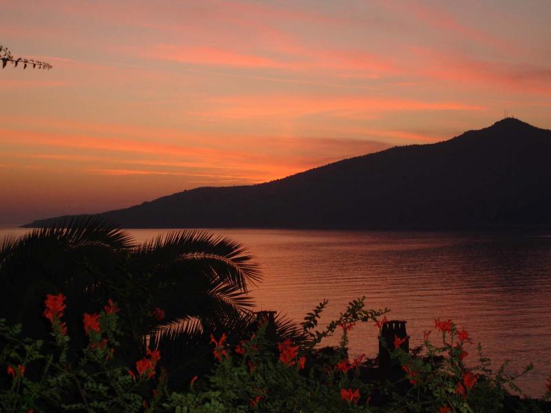 Sunset at the Patara Prince resort