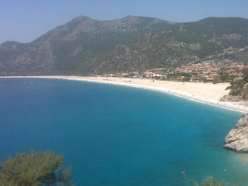 Main beach at Oludeniz