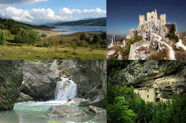Some of the sights of the surrounding district of Teramo