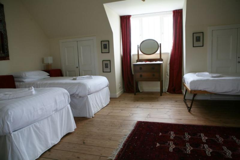 Second master en-suite room with extra bed, there is plenty of space for four
