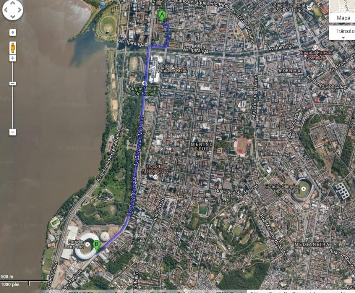 10 minutos walking to stadium World Cup Beira-Rio., holiday rental in Porto Alegre