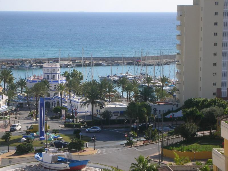 The view to the port from the terrace