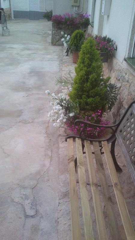 patio común