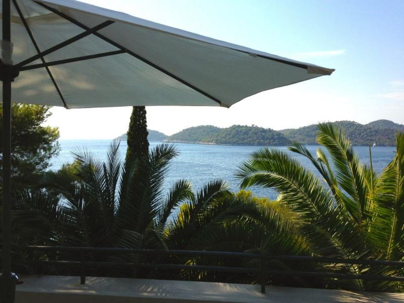 Wonderful view from one of terraces that is ideal for sunbathing or for enjoying in beautiful view