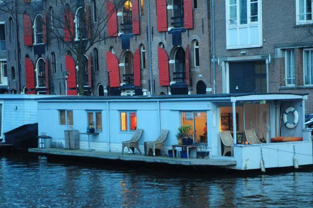 Pantheos Romantic Houseboat, holiday rental in Amsterdam