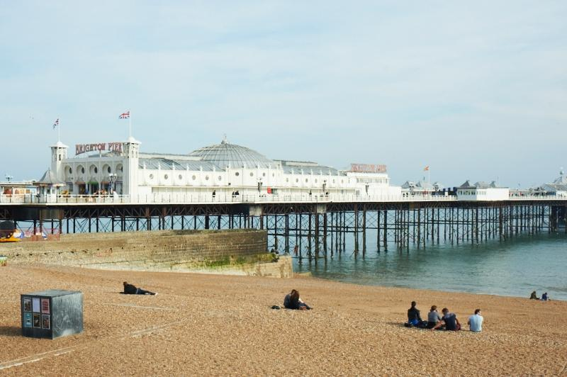 Brighton pier always worth a visit even if its only for the doughnuts!