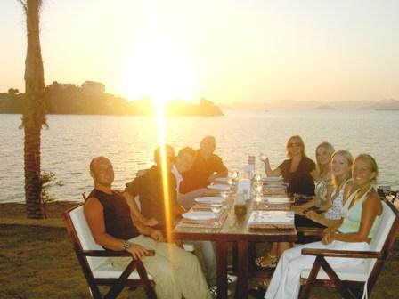 Dining out 'Calis' style