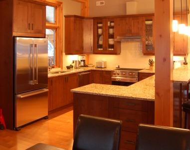 VALHALLA: Entertain your friends and family by cooking delicious meals in the fully equipped kitchen with granite counter tops and stainless steel appliances.