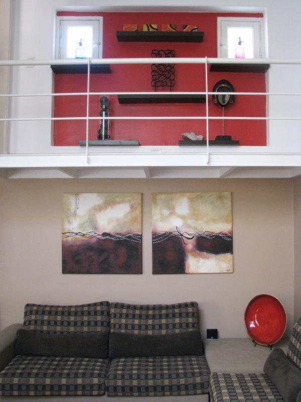 All Original Artwork and Custom Made Furniture! Lots of windows!