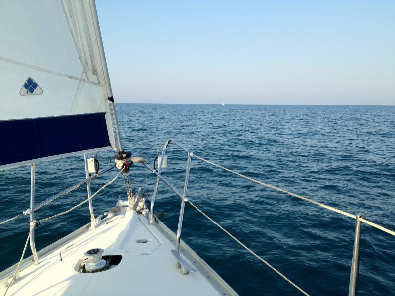 Barca a vela Sun Odyssey 37, Italia, P.S. Giorgio, casa vacanza a Porto San Giorgio