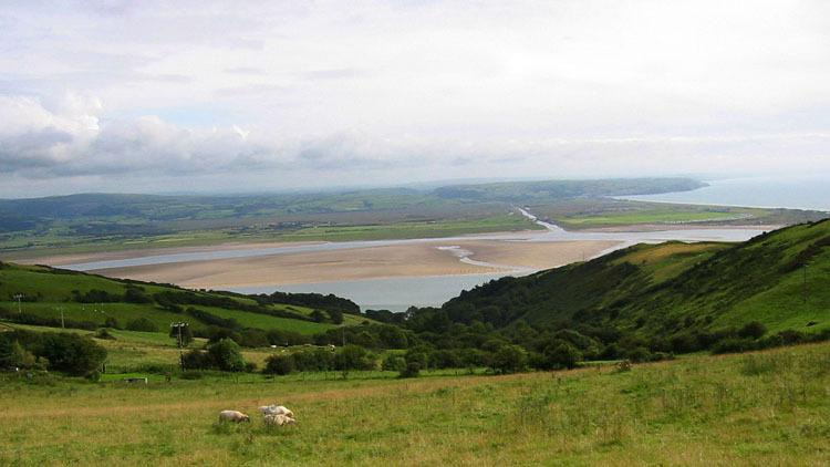 Dyfi Valley Way - follow the route of the river Dyfi all the way to sea