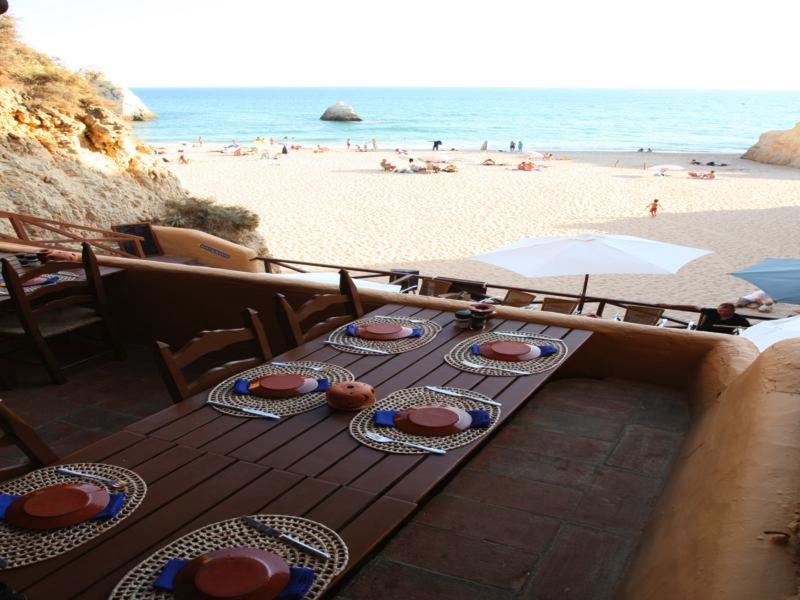 Prainha beach from Caniço restaurant