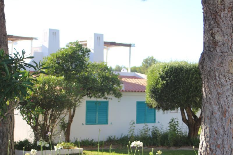 Villa rear view