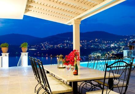 Stunning dining terrace