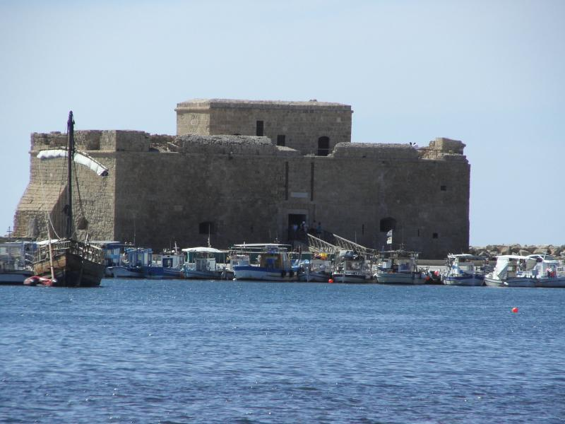 Paphos Fort (worth a visit)