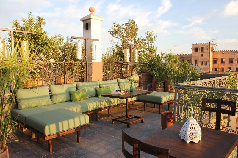 360° terrace with an amazing view on Marrakech medina